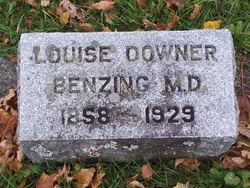Dr Louise <i>Downer</i> Benzing