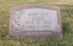 Mary Ann <i>Banderinko</i> Kash