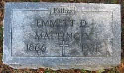 Emmett Dionysius Mattingly