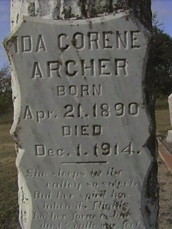 Ida Corine Archer