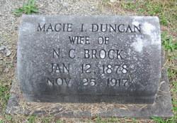 Macie I <i>Duncan</i> Brock