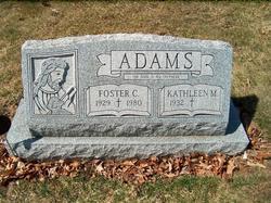 Foster C Adams