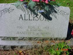 Jeanette E <i>Rockwell</i> Allison
