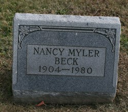 Nancy <i>Myler</i> Beck