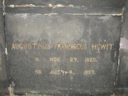 Rev Fr Augustine Francis Hewit, CSP