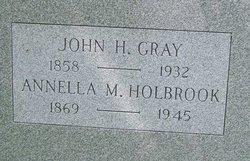 Annella M. <i>Holbrook</i> Gray