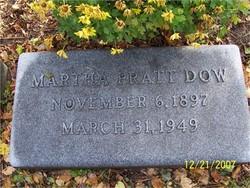 Martha L. <i>Pratt</i> Dow