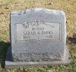 Sarah A. <i>Ross</i> Parks