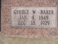 George W Baker