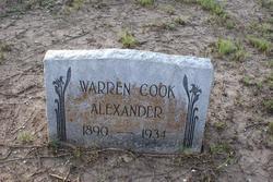 Warren Cook Alexander