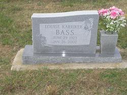 Etta Louise <i>Karriker</i> Bass