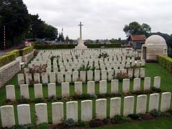 Saint Hilaire Cemetery Extension, Frevent