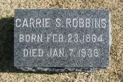 Carrie <i>Seaman</i> Robbins