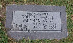 Dolores Carlee <i>Vaughan</i> Akins