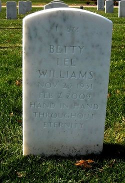 Bettylee <i>Drury</i> Williams