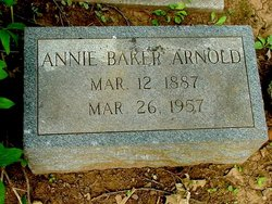 Annie <i>Baker</i> Arnold