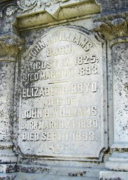 Elizabeth <i>Boyd</i> Williams