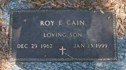 Roy E Cain