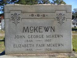 John George McKewn