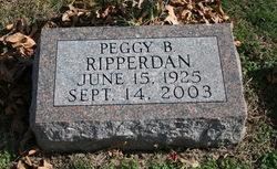 Peggy <i>Brill</i> Ripperdan
