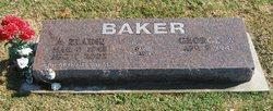 A Elaine Baker