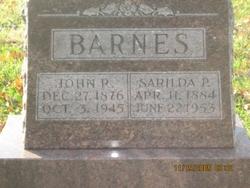Sarilda Philetta <i>Short</i> Barnes