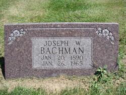Joseph W Bachman