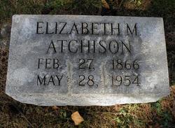 Elizabeth M Atchison