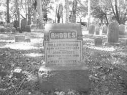 Mary F <i>Hunter</i> Rhodes