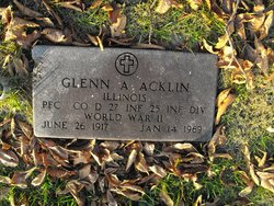 PFC Glenn A Acklin