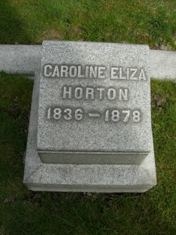 Caroline <i>Parsons</i> Horton