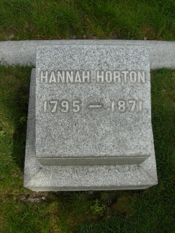 Hannah <i>Olmstead</i> Horton