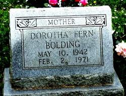Dorotha Fern Bolding