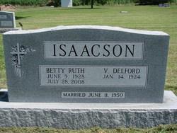 Betty Ruth <i>Bergman</i> Isaacson