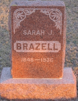 Sarah Jane Susan Abigail Lenora Katherene <i>Cunningham</i> Brazell