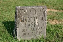 Martha J <i>Thompson</i> Casey
