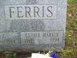 Esther May <i>Markle</i> Ferris