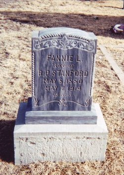 Fannie Lenore <i>Willingham</i> Stanford