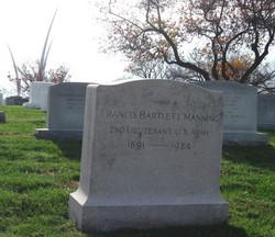 Lieut Francis Bartlett Manning