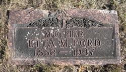 Etta Marie <i>Beckwith</i> Wickham-Ford