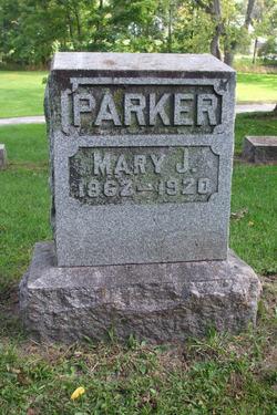 Mary J. <i>Rowell</i> Parker