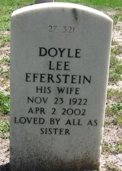 Doyle Lee <i>Eferstein</i> Wardlaw