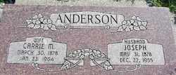 Carrie Marie <i>Olsen</i> Anderson