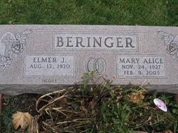 Mary Alice <i>Schultz</i> Beringer