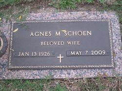 Agnes Marie <i>Kramer</i> Schoen