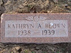 Kathryn A Brown