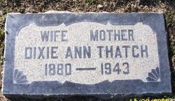 Dixie Ann <i>Hickey</i> Thatch