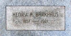 Henry Alfred Barkhaus