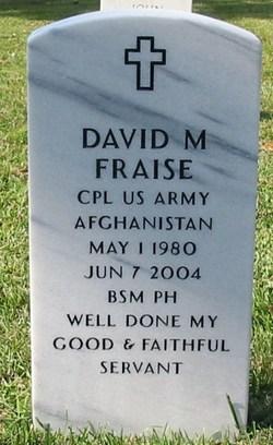 Corp David Maurice Fraise