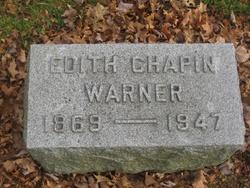 Edith Lavinia <i>Chapin</i> Warner